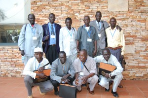 The South Sudan delegation